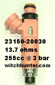Toyota 23209-46050 Fuel Injector
